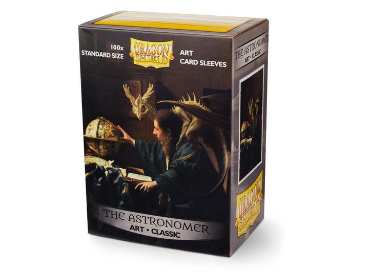 Dragon Shield: Classic Art Deck Protector Sleeves - Standard Size 'The Astronomer' (100)