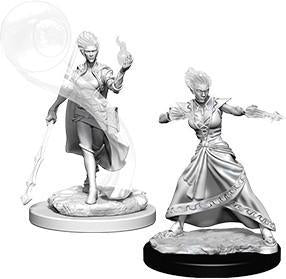 D&D Nolzur's Marvelous Miniatures - Fire Genasi Female Wizard - Unpainted (WZK73336)
