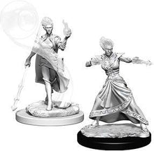 Load image into Gallery viewer, D&D Nolzur's Marvelous Miniatures - Fire Genasi Female Wizard - Unpainted (WZK73336)