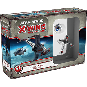 Star Wars X-Wing Miniature Game - Rebel Aces - Star Wars X-Wing 1st Ed