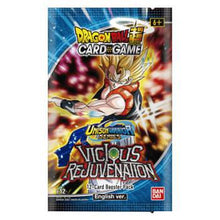 Load image into Gallery viewer, Dragon Ball Super TCG: Unison Warriors Series 3 - Vicious Rejuvenation Booster Pack