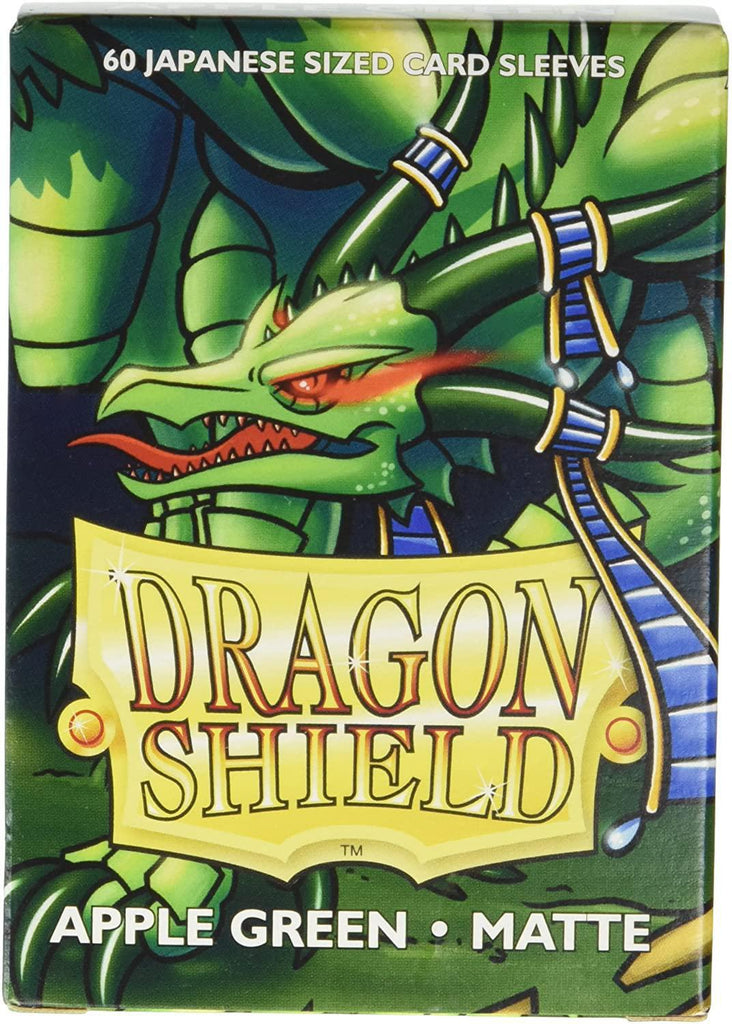 Dragon Shield: Deck Protector Sleeves - Japanese Size Matte Apple Green (60)