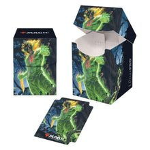 Load image into Gallery viewer, Ultra Pro: Pro-100+ Deck Box - with 100 Matching Sleeves - Zendikar Rising V1 'Obuun' - for Magic the Gathering