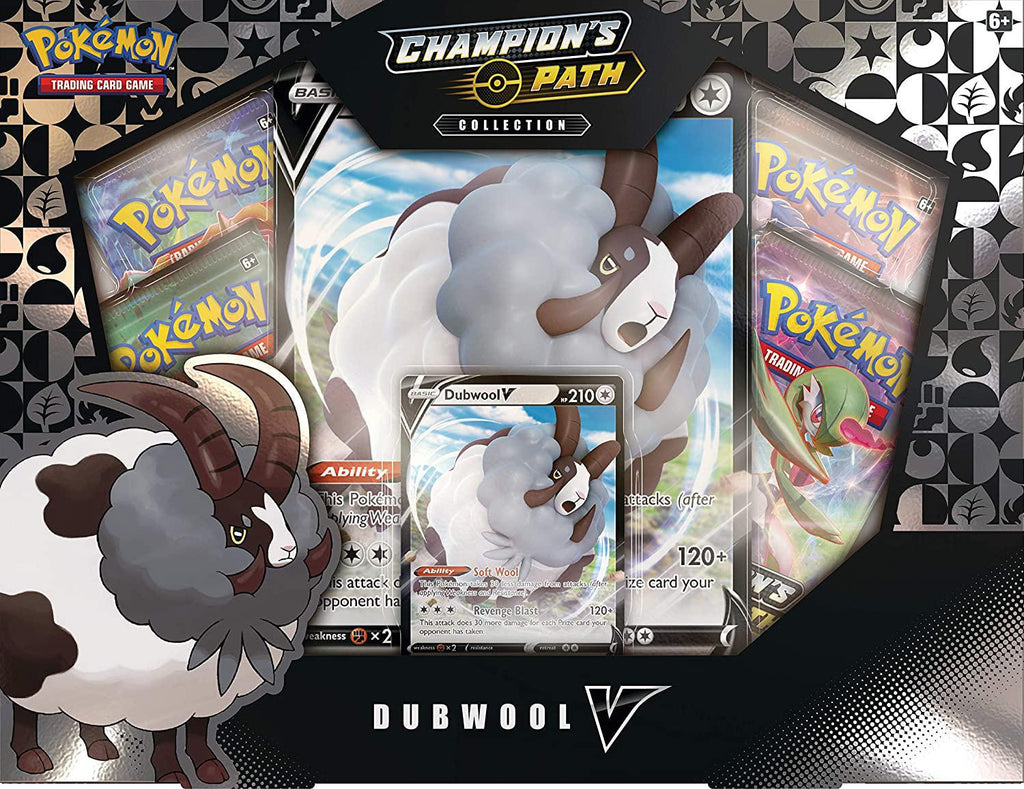 Pokemon TCG Champion/'s Path Dubwool V Collection Box *In Hand