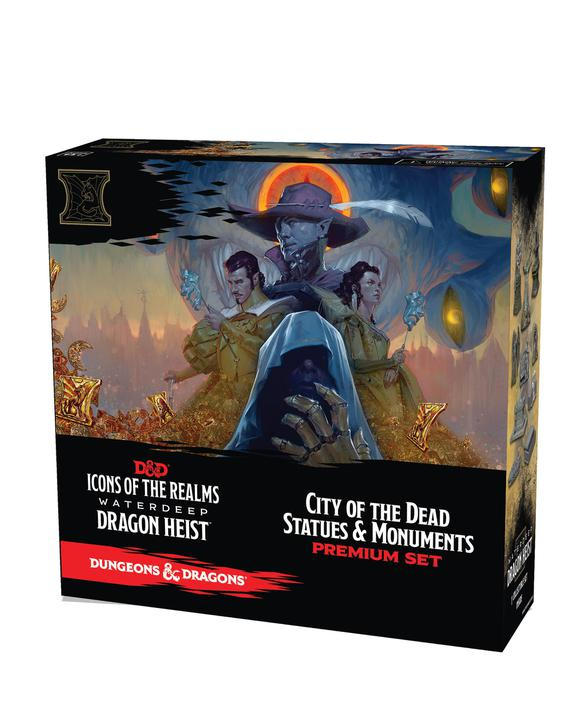 D&D Icons Of The Realms: Dragon Heist - City of the Dead Premium Set