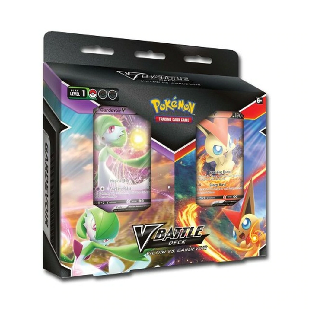 Pokemon TCG: V Battle Deck - Victini V vs. Gardevoir V Double Deck Bundle
