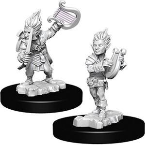 Pathfinder Deep Cuts Miniatures - Gnome Male Bard - Unpainted (WZK73344)
