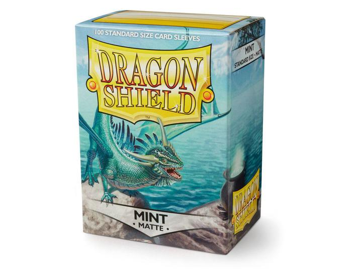Dragon Shield: Deck Protector Sleeves - Standard Size Matte Mint (100)