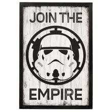 Load image into Gallery viewer, Join the Empire Framed Wooden Wall Hang