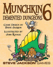 Load image into Gallery viewer, Munchkin 6 - Demented Dungeons Expansion