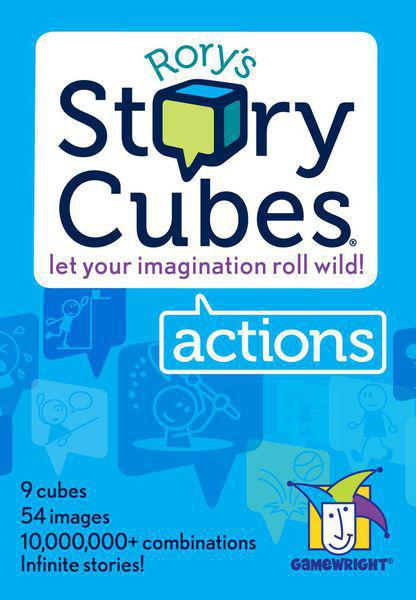 Rory's Story Cubes: Actions - Box
