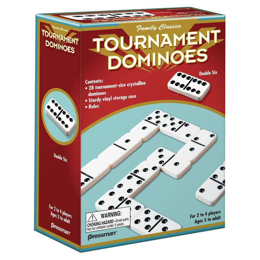 Dominoes: Double Six - Tournament Sized