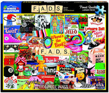 Load image into Gallery viewer, White Mountain Puzzles: Fads - 1000 Piece Puzzle