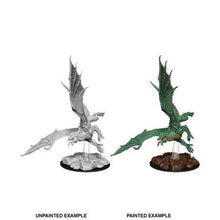 Load image into Gallery viewer, D&D Nolzur's Marvelous Miniatures - Young Green Dragon - Unpainted (WZK73684)