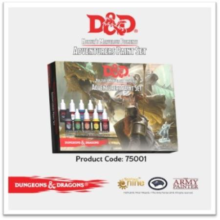 D&D Nolzur's Marvelous Pigments: Adventurer's Paint Set