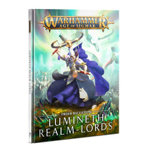 Load image into Gallery viewer, Games Workshop: Age of Sigmar - Lumineth Realm-Lords - Battletome (87-04)