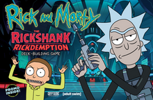 Load image into Gallery viewer, Rick and Morty: The Rickshank Rickdemption Deck-Building Game