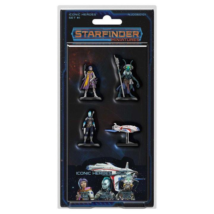 Starfinder RPG: Miniatures - Iconic Heroes Set 1