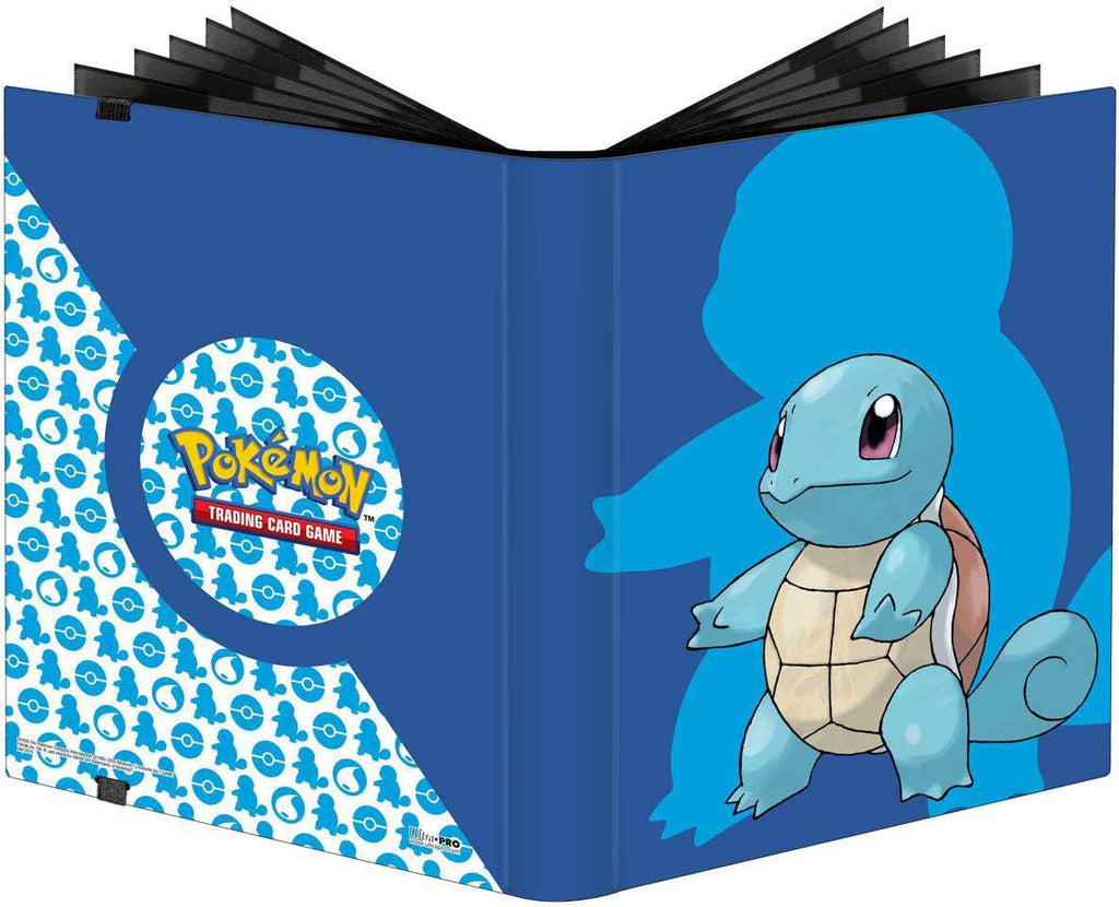 Ultra Pro: 9-Pocket PRO Binder 'Squirtle' - For Pokemon TCG