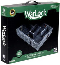 Load image into Gallery viewer, WizKids: WarLock Tiles II - Full Height Stone Walls (Expansion)