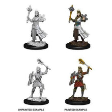 Load image into Gallery viewer, D&D Nolzur's Marvelous Miniatures - Human Female Cleric - Unpainted (WKZ73671)