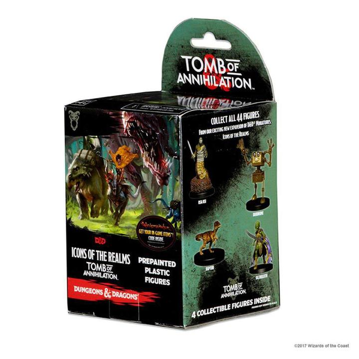 D&D 5e Miniatures - Tomb of Annihilation Booster