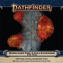 Load image into Gallery viewer, Pathfinder Flip-Tiles: Darklands Fire Cave Expansion