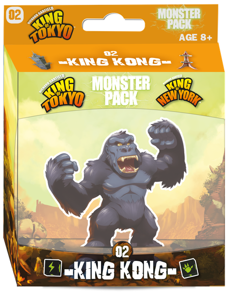 King of Tokyo/New York - King Kong Monster Pack Expansion