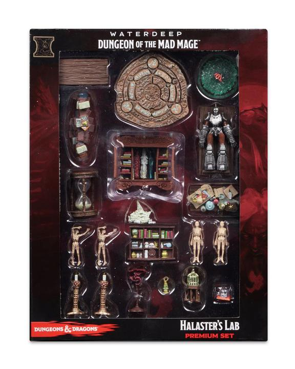 D&D - Icons of the Realms - Waterdeep: Dungeon of the Mad Mage - Halaster's Lab Premium Set
