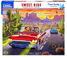 Load image into Gallery viewer, White Mountain Puzzles: Sweet Ride - 1000 Piece Puzzle