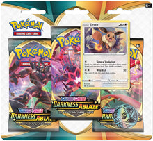 Load image into Gallery viewer, Pokemon TCG: Sun & Moon - Darkness Ablaze - Three Pack Blister