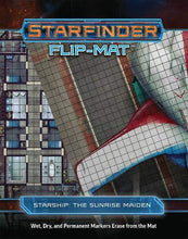 Load image into Gallery viewer, Starfinder Flip-Mat - Starship: The Sunrise Maiden