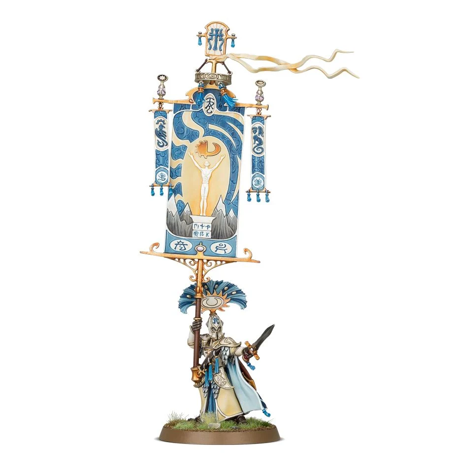 Games Workshop: Age of Sigmar - Lumineth Realm-Lords - Vanari Bannerblade (87-17)