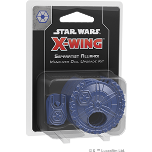 Star Wars X-Wing Miniature Game - Separatist Alliance Maneuver Dial Upgrade Kit - X-Wing Miniature Game 2nd Ed