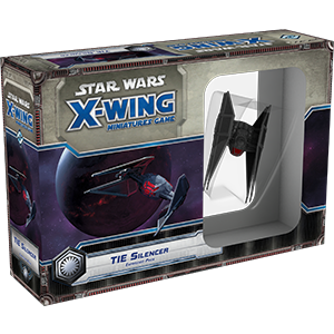 Star Wars X-Wing Miniature Game - TIE Silencer - Star Wars X-Wing 1st Ed