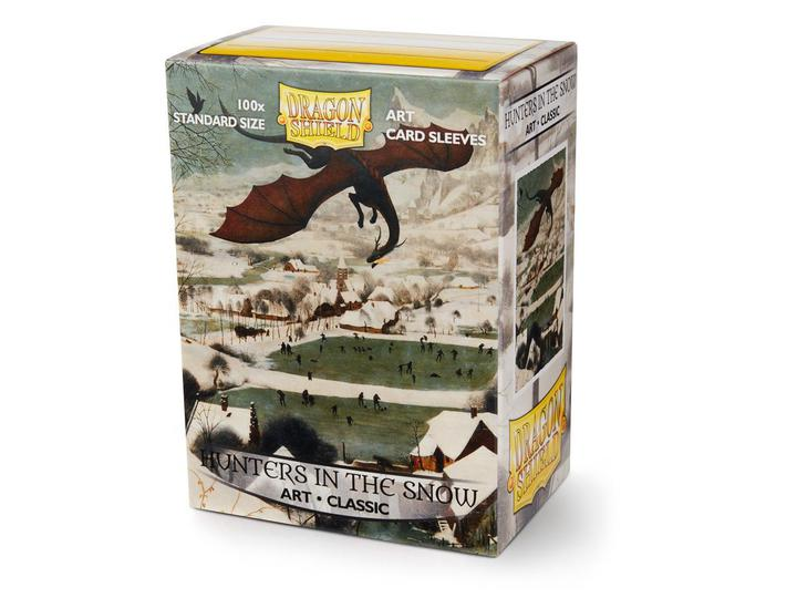 Dragon Shield: Classic Art Deck Protector Sleeves - Standard Size 'Hunters in the Snow' (100)