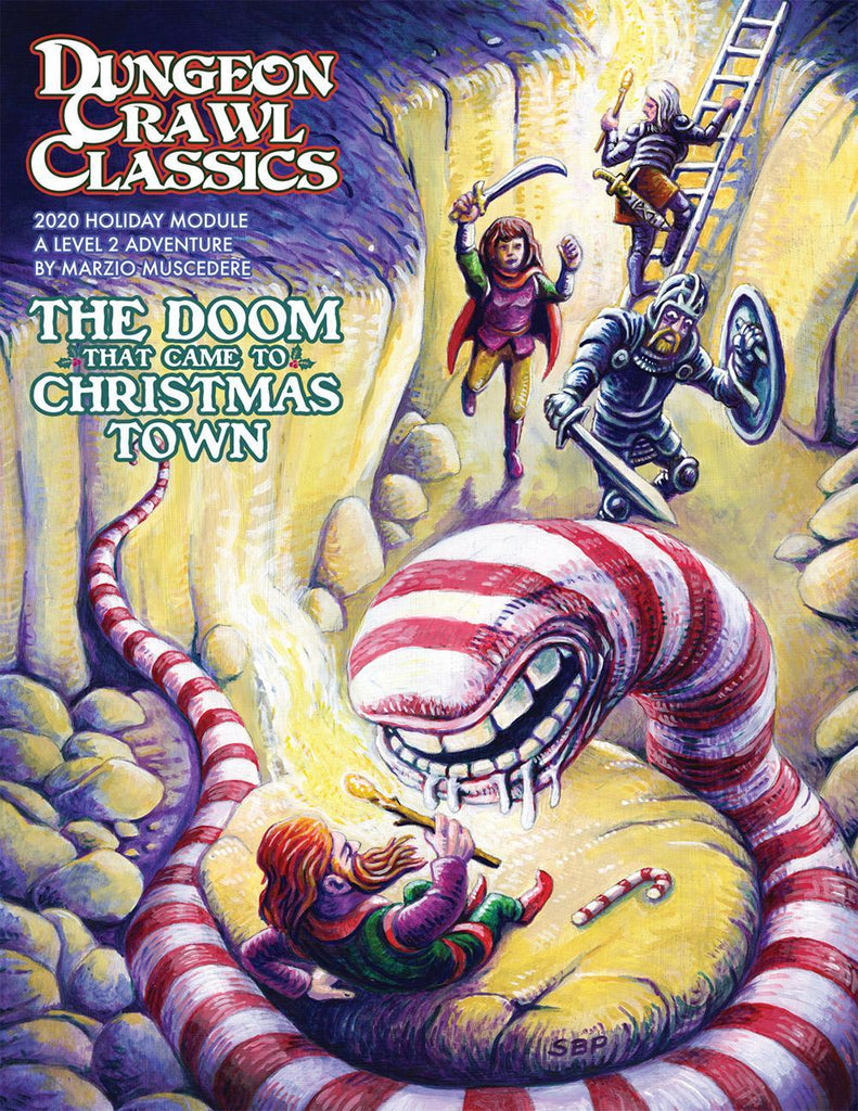Dungeon Crawl Classics RPG: The Doom That Came to Christmas Town (Holiday 2020 Module)