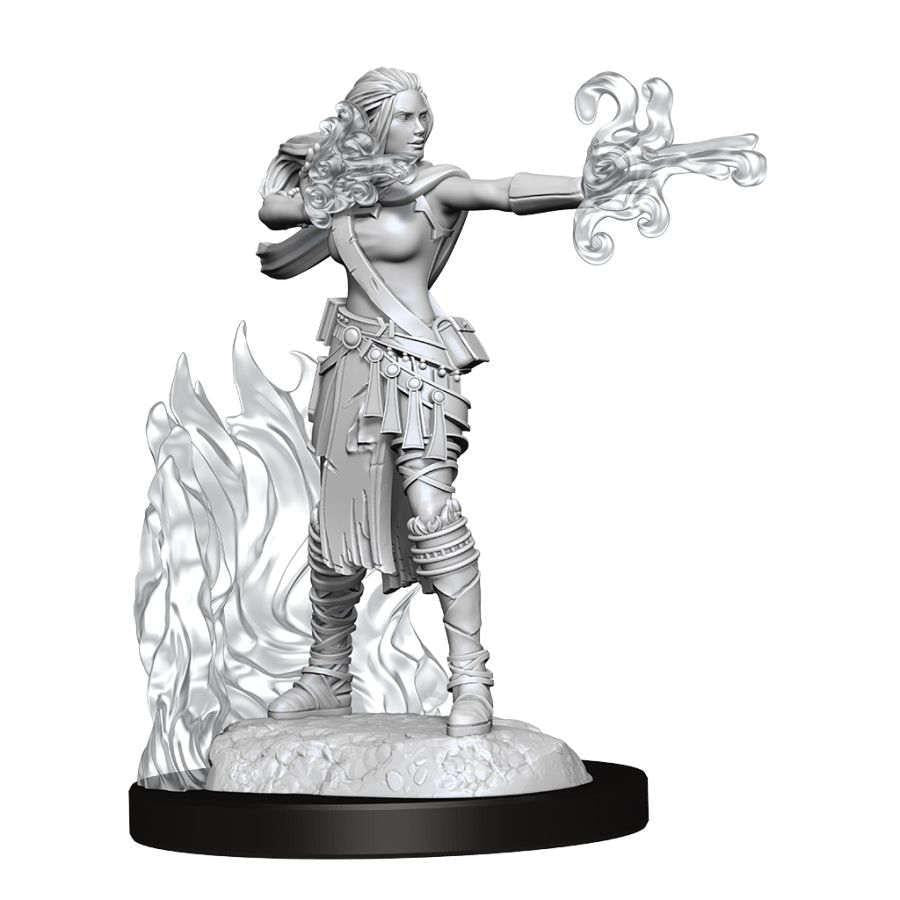 D&D Nolzur's Marvelous Miniatures - Multiclass Female Warlock-Sorcerer - Wave 13 Unpainted (WZK90149)