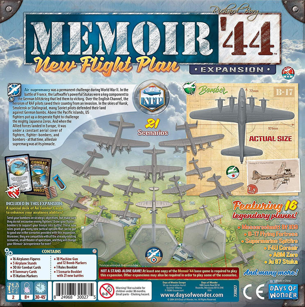 Memoir '44: New Flight Plan Expansion