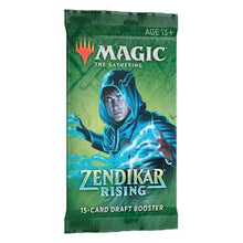 Load image into Gallery viewer, Magic the Gathering: Zendikar Rising - Draft Booster Pack (Preorder)