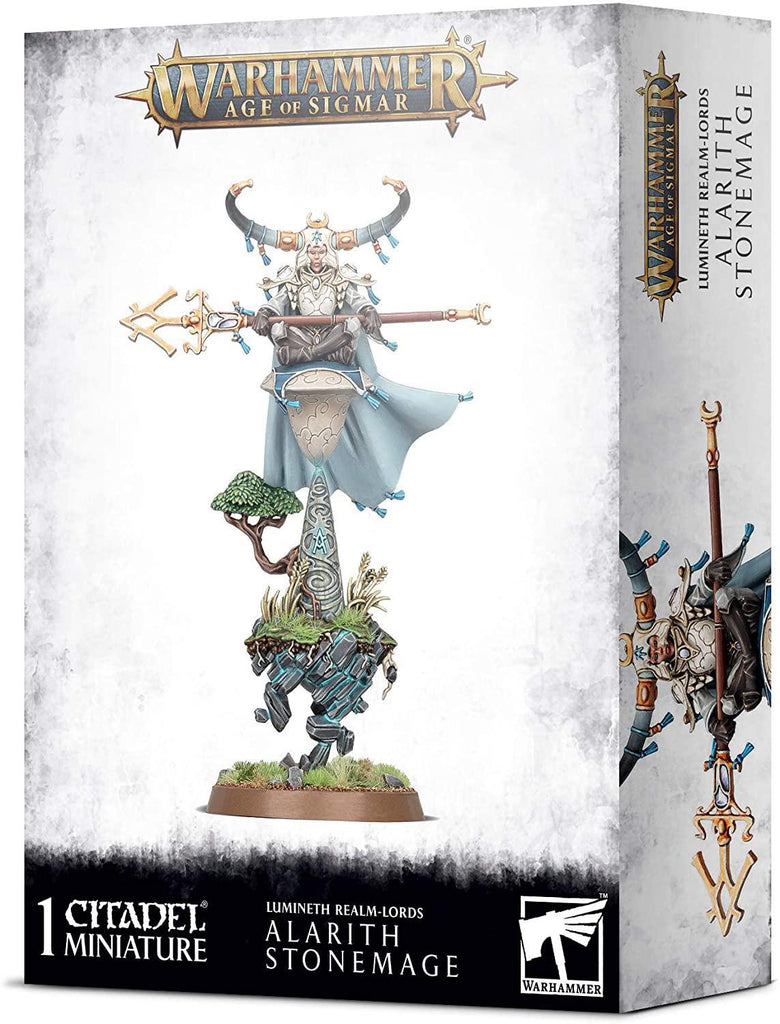 Games Workshop: Age of Sigmar - Lumineth Realm-Lords - Alarith Stonemage (87-55)