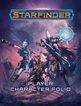 Load image into Gallery viewer, Starfinder RPG: Player Character Folio