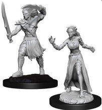 Load image into Gallery viewer, Magic the Gathering Miniatures - Vampire Lacerator and Vampire Hexmage - Wave 13 Unpainted (WZK90179)