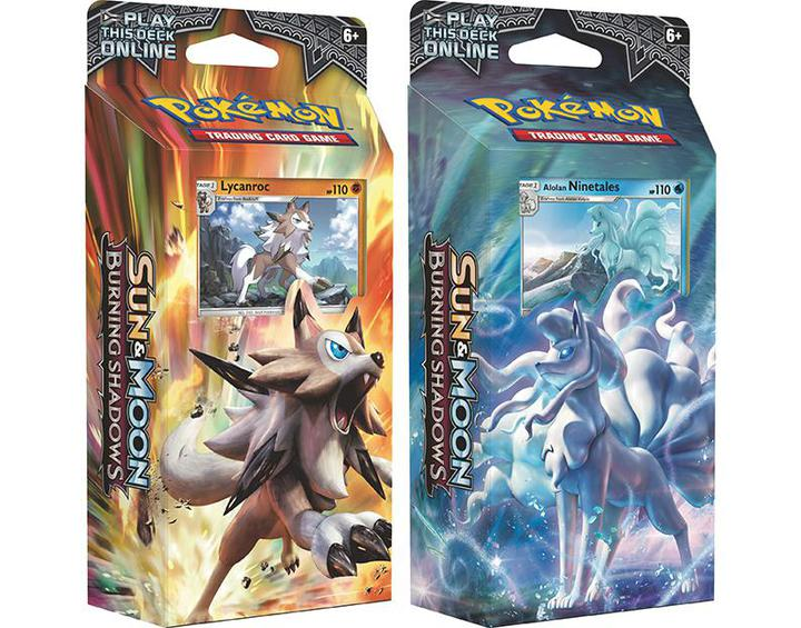 Pokemon TCG: Sun & Moon - Burning Shadows Theme Deck