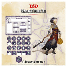 Load image into Gallery viewer, D&D: Token Set - Warlock