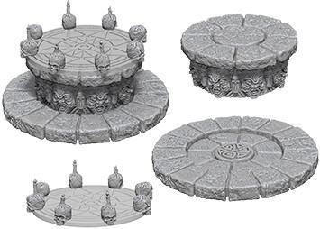 WizKids Deep Cuts Miniatures - Magic Dais - Unpainted (WZK73368)