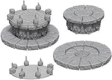 Load image into Gallery viewer, WizKids Deep Cuts Miniatures - Magic Dais - Unpainted (WZK73368)