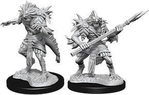 D&D Nolzur's Marvelous Miniatures: Sahuagin - Wave 12 Unpainted (WZK90073)