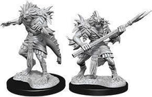 Load image into Gallery viewer, D&D Nolzur's Marvelous Miniatures: Sahuagin - Wave 12 Unpainted (WZK90073)