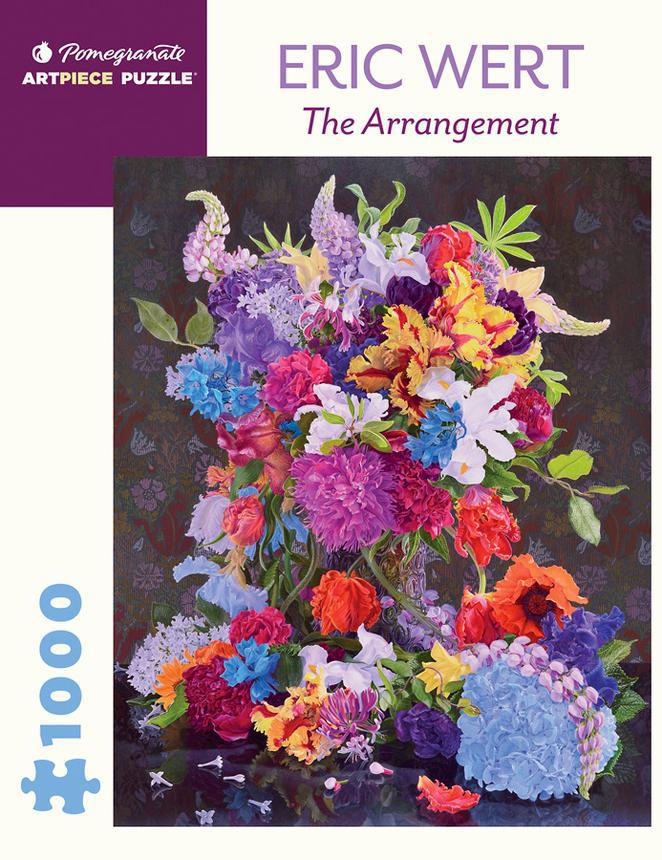 Pomegranate ArtPiece Puzzles: Eric Wert - The Arrangement - 1000 Piece Puzzle